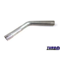 Kipufogó cső 45st 2,5 61cm rozsdamentes acél